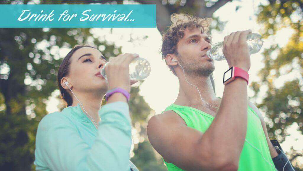 Drink for survival blog post header