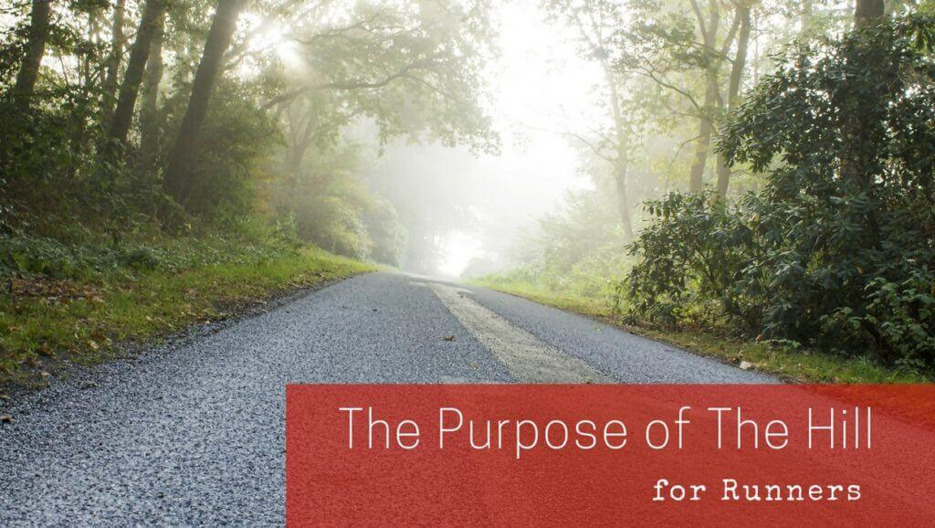 The purpose of the hill……